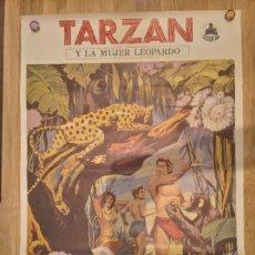 Cine: TARZAN Y LA MUJER LEOPARDO JOHNNY WEISMULLER BRENDA JOYCE (1973). Lote 210607546