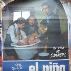 Cine: EL NIÑO ES NUESTRO.-MARIA ISABEL ALVAREZ.-FRANCISCO VILLA.-CURRITO.-UN FILM DE SUMMERS.-CINE.-CARTEL. Lote 210617466