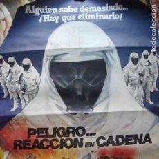 Cine: PELIGRO REACCION EN CADENA.-CINE.-POSTER.-CARTEL INCOMPLETO.-MEDIDAS DE 86 X 66 CM.. Lote 210617728