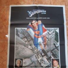 Cine: CARTEL PELÍCULA SUPERMAN DEL AÑO 1979 CHRISTOPHER REEVE MARLON BRANDO. Lote 210648598