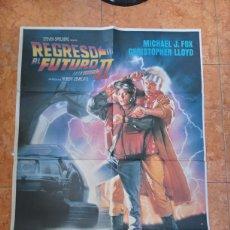 Cine: CARTEL PELÍCULA REGRESO AL FUTURO 2 DEL AÑO 1989 MICHAEL J FOX BACK TO THE FUTURE. Lote 210649127