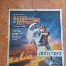 Cine: CARTEL PELÍCULA REGRESO AL FUTURO DEL AÑO 1985 MICHAEL J FOX BACK TO THE FUTURE. Lote 210649435