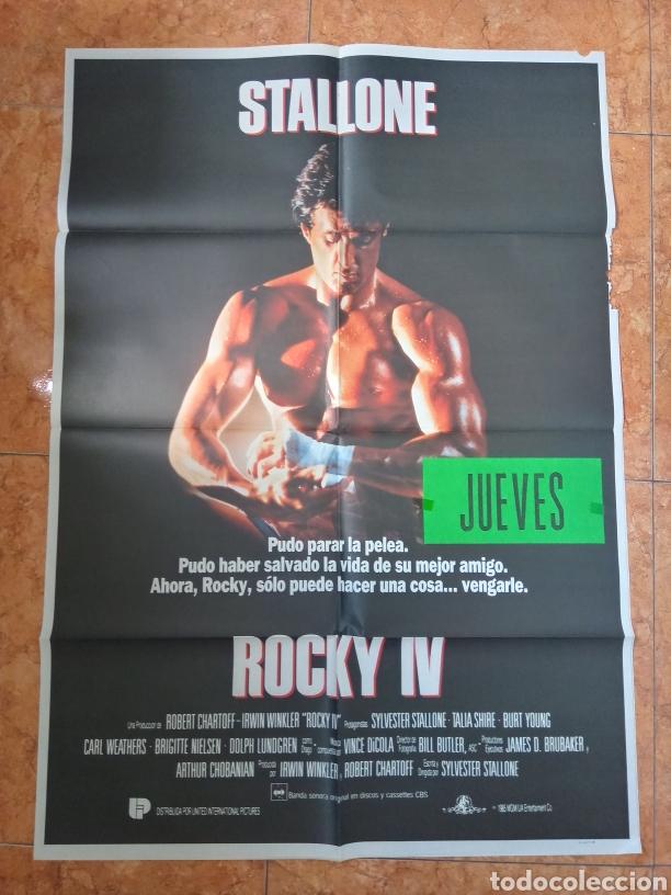 CARTEL PELÍCULA ROCKY 4 AÑO 1981 SYLVESTRER STALLONE (Cine- Posters y Carteles - Drama)