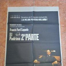Cine: CARTEL PELÍCULA EL PADRINO 2ª PARTE AÑO 1975FRANCIS FORD COPPOLA PACINO BRANDO DE NIRO. Lote 210650485