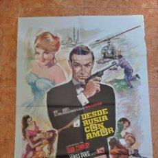 Cine: CARTEL DESDE RUSIA CON AMOR (1974) JAMES BOND SEAN CONNERY, DANIELA BIANCHI. Lote 210651830