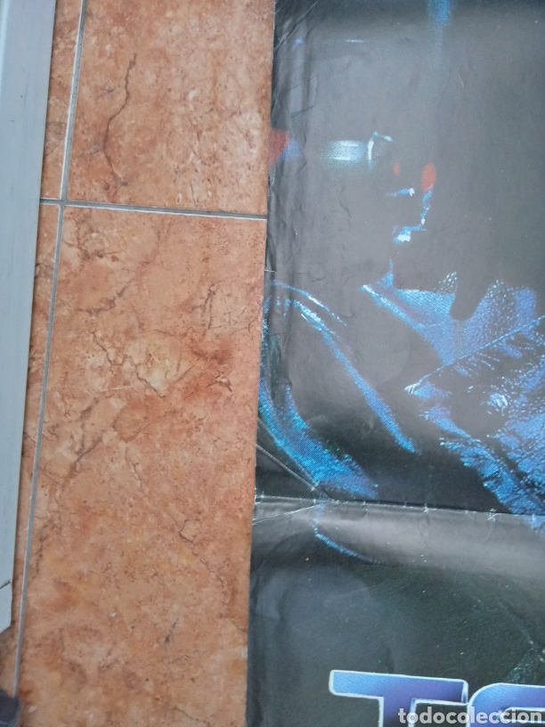 Cine: Cartel película Terminator año 1984 Schwarzenegger - Foto 3 - 210653499
