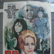 Cinéma: CDO 3827 99 MUJERES JESUS FRANCO MARIA SCHELL POSTER ORIGINAL 70X100 ESTRENO. Lote 210658070