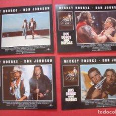 Cine: DOS DUROS SOBRE RUEDAS.-MICKEY ROURKE.-DON JOHNSON.-CINE.-CARTELES.. Lote 210681774