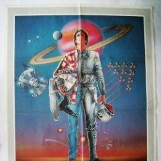 Cine: STARFIGHTER, LA AVENTURA COMIENZA, DE NICK CASTLE. POSTER 70 X 100 CMS.1985.. Lote 210711355