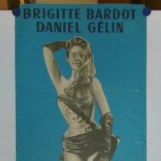 Cine: EN ENFEUILLANT LA MARGERITE - 1956 - 160 X 60- LITOGRAFICO. Lote 210716217