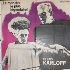 Cine: LA FIANCEÉ DE FRANKENSTEIN - 1935 - 160 X 120 - OFFSET. Lote 235623780