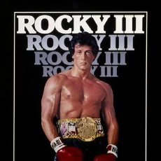 Cine: ROCKY III (POSTER). Lote 210730702