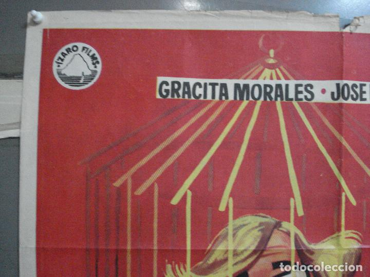Cine: CDO 3880 OPERACION CABARETERA GRACITA MORALES JOSE LUIS LOPEZ VAZQUEZ POSTER ORIGINAL 70X100 ESTRENO - Foto 2 - 210733055