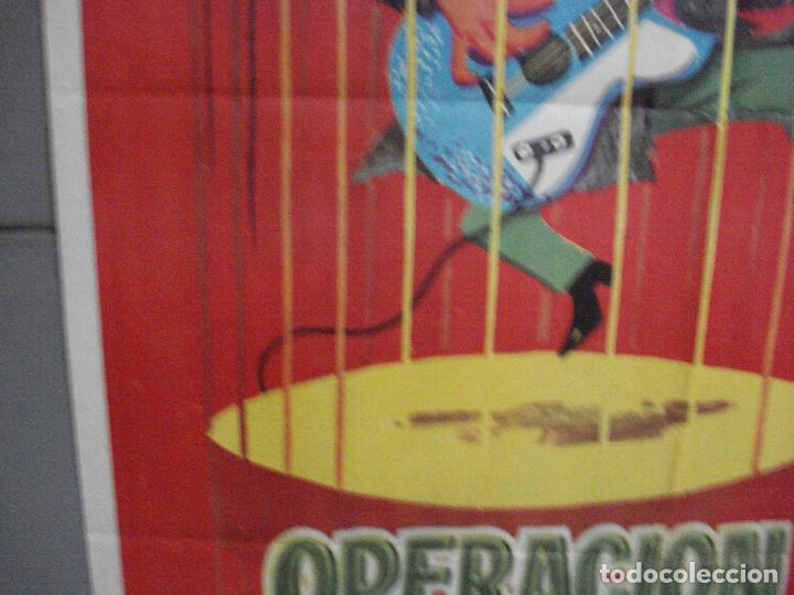 Cine: CDO 3880 OPERACION CABARETERA GRACITA MORALES JOSE LUIS LOPEZ VAZQUEZ POSTER ORIGINAL 70X100 ESTRENO - Foto 4 - 210733055