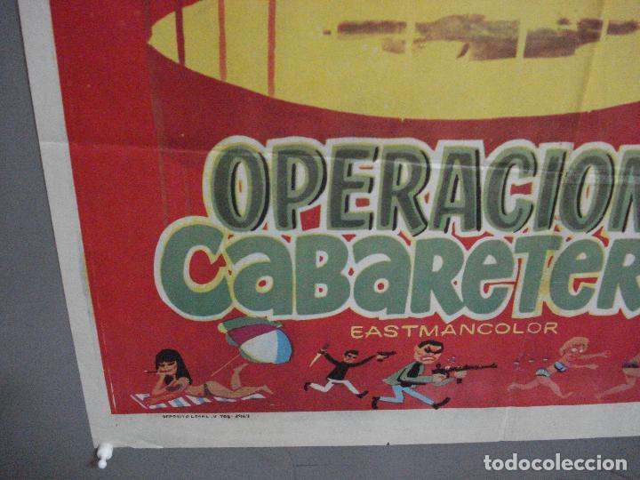 Cine: CDO 3880 OPERACION CABARETERA GRACITA MORALES JOSE LUIS LOPEZ VAZQUEZ POSTER ORIGINAL 70X100 ESTRENO - Foto 5 - 210733055
