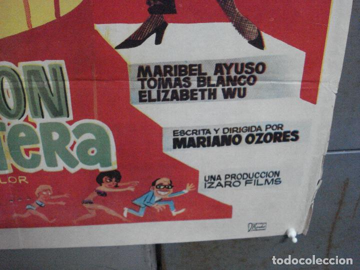Cine: CDO 3880 OPERACION CABARETERA GRACITA MORALES JOSE LUIS LOPEZ VAZQUEZ POSTER ORIGINAL 70X100 ESTRENO - Foto 9 - 210733055