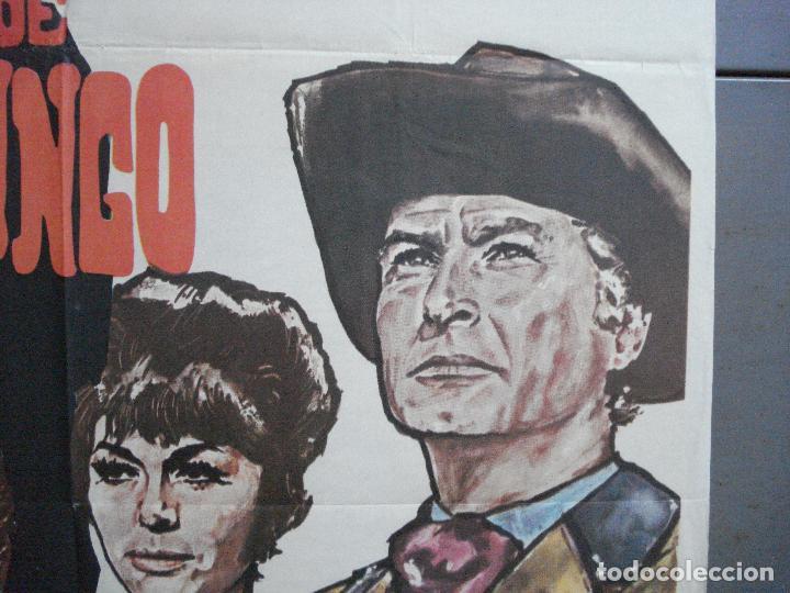 Cine: CDO 3882 LA BALADA DE JOHNNY RINGO LEX BARKER SPAGHETTI POSTER ORIGINAL 70X100 ESTRENO - Foto 7 - 210734980