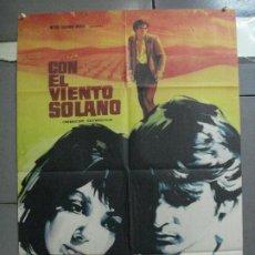 Cine: CDO 3888 CON EL VIENTO SOLANO IMPERIO ARGENTINA ANTONIO GADES POSTER ORIGINAL 70X100 ESTRENO. Lote 210741124