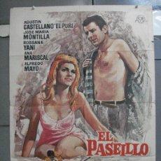 Cine: CDO 3948 EL PASEILLO ANA MARISCAL EL PURI TOROS MAC POSTER ORIGINAL 70X100 ESTRENO. Lote 210827786