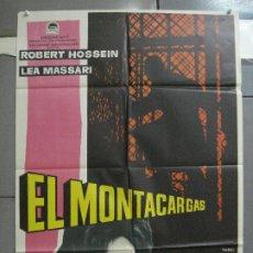 Cine: CDO 3949 EL MONTACARGAS ROBERT HOSSEIN LEA MASSARI MAC POSTER ORIGINAL 70X100 ESTRENO. Lote 210828192