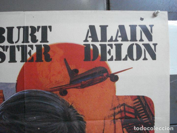 Cine: CDO 3956 SCORPIO BURT LANCASTER ALAIN DELON POSTER ORIGINAL 70X100 ESTRENO - Foto 6 - 210832681
