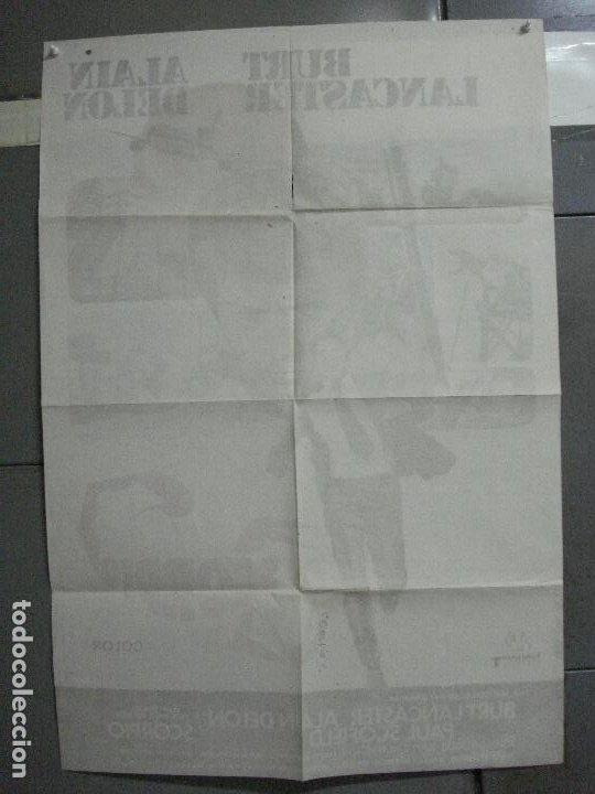 Cine: CDO 3956 SCORPIO BURT LANCASTER ALAIN DELON POSTER ORIGINAL 70X100 ESTRENO - Foto 10 - 210832681