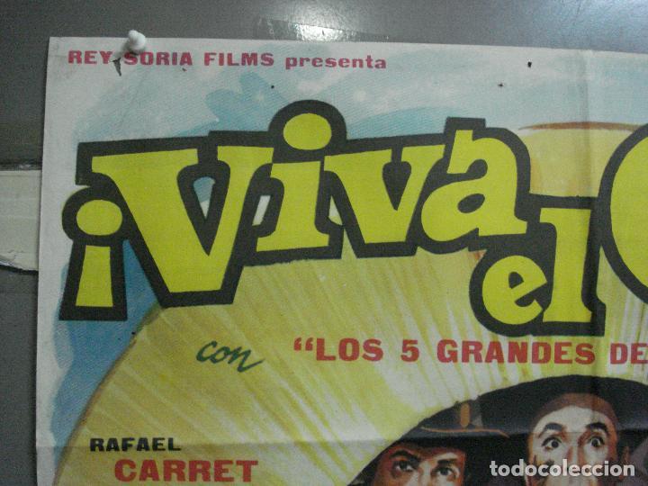 Cine: CDO 3958 CDO 3958 VIVA EL OESTE RAFAEL CARRET CINE ARGENTINO POSTER ORIGINAL 70X100 ESTRENO - Foto 2 - 210833342