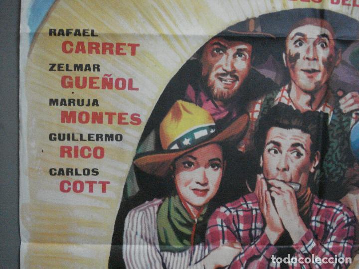 Cine: CDO 3958 CDO 3958 VIVA EL OESTE RAFAEL CARRET CINE ARGENTINO POSTER ORIGINAL 70X100 ESTRENO - Foto 3 - 210833342