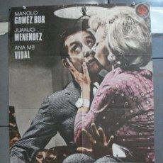 Cine: CDO 3967 LA QUE ARMAN LAS MUJERES MANOLO GOMEZ BUR POSTER ORIGINAL 70X100 ESTRENO. Lote 210836307