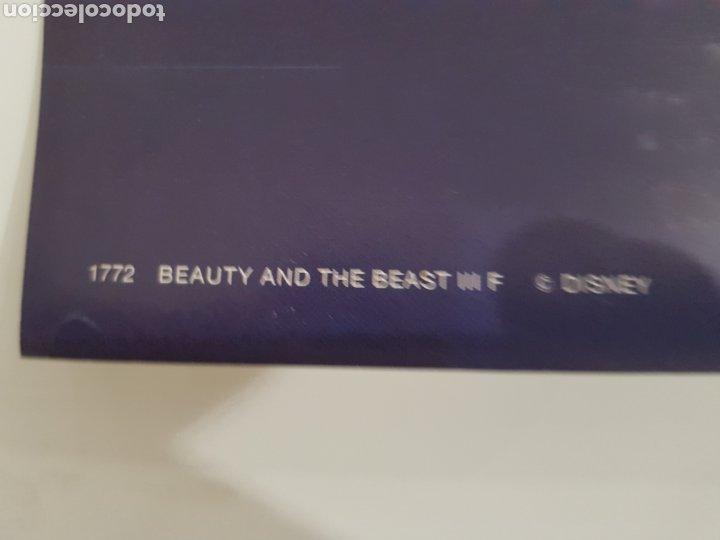 Cine: Poster La bella y La Bestia Disney ,Scandecor 1992 - Foto 2 - 210938355