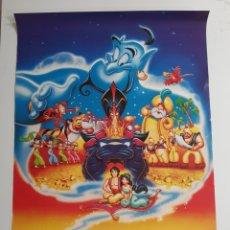 Cine: ALADIN DISNEY POSTER, SCANDECOR , 1993. Lote 210938899
