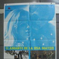 Cine: CDO 3980 EL AMANTE DE LA OSA MAYOR GIULIANO GEMMA SENTA BERGER POSTER ORIGINAL ESTRENO 70X100. Lote 210955030