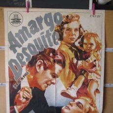 Cine: AMARGO DESQUITE. Lote 211258287