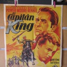 Cine: EL CAPITAN KING SOLIGO. Lote 211258452