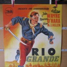 Cine: RIO GRANDE JOHN WAYNE JOHN FORD. Lote 211259044