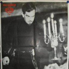 Cine: LES CHASSES DU COMTE ZAROFF - 200 X 120 - 1932 - OFFSET. Lote 211259055
