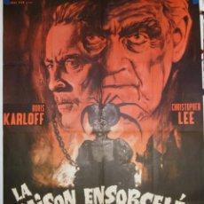 Cine: LA MAISON ENSORCELÉE - 200 X 120 - 1908 - OFFSET. Lote 211263661