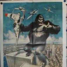 Cine: KING KONG - 160 X 120 - 1976 - OFFSET. Lote 211263910