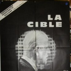 Cine: LA CIBLE - 200 X 120 - 1968 - OFFSET. Lote 211264010
