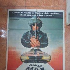 Cine: CARTEL DE PELICULA MAD MAX SALVAJE DE LA AUTOPISTA AÑO 1979 MEL GIBSON. Lote 211267235