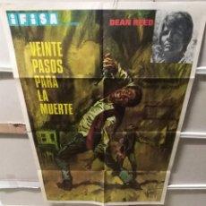 Cine: VEINTE PASOS PARA LA MUERTE POSTER ORIGINAL 70X100 YY (2337). Lote 211276869