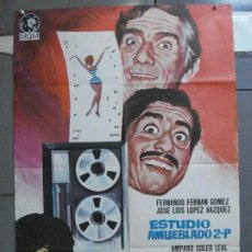 Cine: CDO 3993 ESTUDIO AMUEBLADO 2-P LOPEZ VAZQUEZ SOLEDAD MIRANDA FERNAN GOMEZ POSTER ORIG 70X100 ESTRENO. Lote 211390300