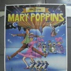 Cine: CDO 4005 MARY POPPINS JULIE ANDREWS WALT DISNEY POSTER ORIGINAL 70X100 ESPAÑOL R-80S. Lote 211406879