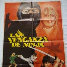 Cine: PÓSTER ORIGINAL LA VENGANZA DE NINJA DISEÑ: MATAIX. Lote 211412431