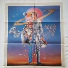 Cine: PÓSTER ORIGINAL STARTFIGHTER: LA AVENTURA COMIENZA 1985. Lote 211417470