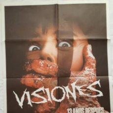 Cine: PÓSTER ORIGINAL VISIONES. Lote 211491730