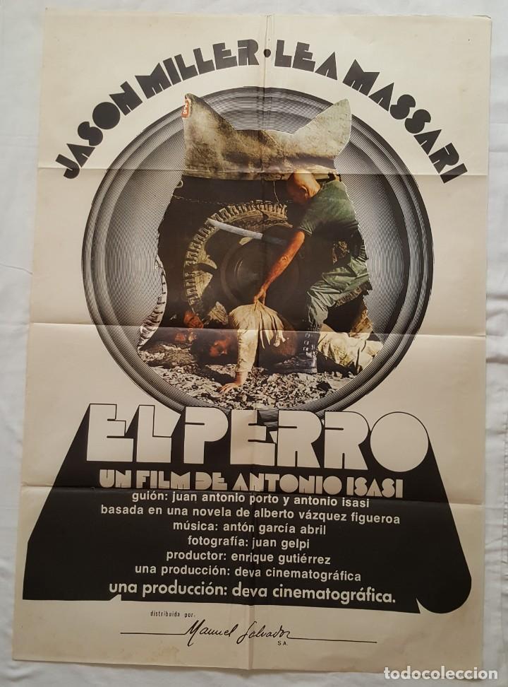 PÓSTER ORIGINAL EL PERRO ANTONIO ISASI JASON MILLER (Cine - Posters y Carteles - Clasico Español)