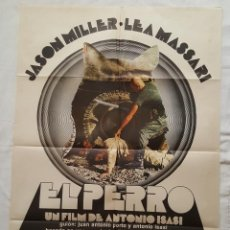 Cine: PÓSTER ORIGINAL EL PERRO ANTONIO ISASI JASON MILLER. Lote 211492749