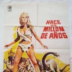 Cine: PÓSTER ORIGINAL HACE UN MILLÓN DE AÑOS 1979 RAQUEL WELCH. Lote 211494217