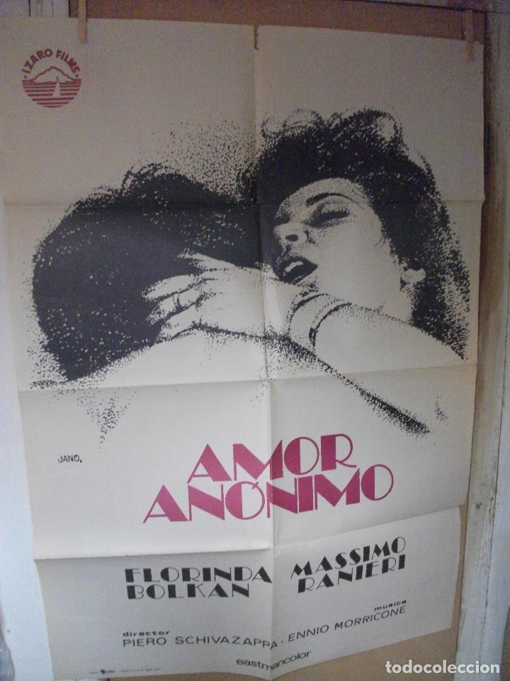 AMOR ANÓNIMO, FLORINDA BOLKAN (Cine- Posters y Carteles - Drama)